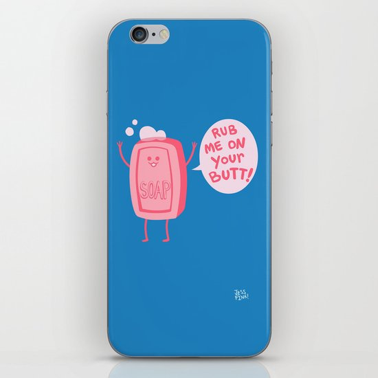 Lil' Soap iPhone Skin