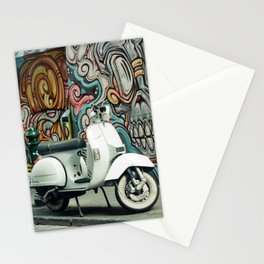 Vespa Chariot Stationery Cards
