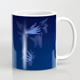 Coming Out Of The Blue Coffee Mug