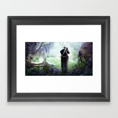 In your arms Framed Art Print