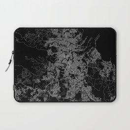 Brisbane map Australia Laptop Sleeve