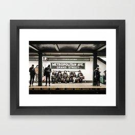 Metropolitan Ave. Framed Art Print