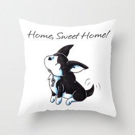 Boston Housewarming Throw Pillow