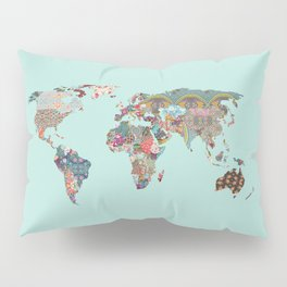 Louis Armstrong Told Us So (teal) Pillow Sham