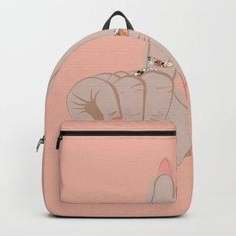 LA Hand Sign Pink Backpack