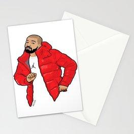 DRAKE dancing Stationery Cards