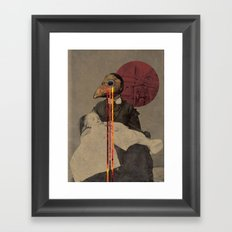 Transcendence Attempts Framed Art Print