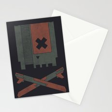 The Nes Skull Stationery Cards