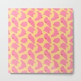 Pink seals Metal Print