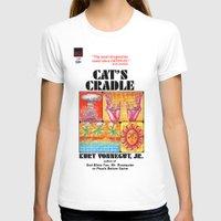 vonnegut T-shirts featuring Vonnegut - Cat's Cradle by Neon Wildlife