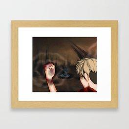 Ghost Story pt 1 Framed Art Print