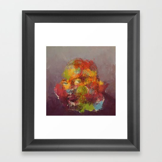 Ayers Framed Art Print