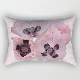 Poppies in May Rectangular Pillow