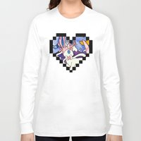 sylveon Long Sleeve T-shirts featuring Eeveevolution Series - Sylveon by Jazmine Phillips
