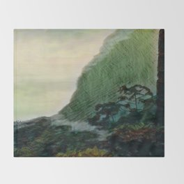 Mists In The Pitons: St. Lucia Throw Blanket