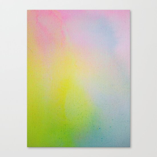 Color Field/Washes III Canvas Print