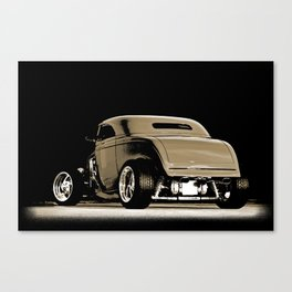 1932 Ford Hot Road Sepia Canvas Print