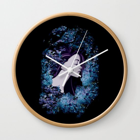 The Colorful Unknown Wall Clock