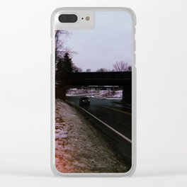 Drive me Home Clear iPhone Case