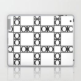 angle black & white Laptop & iPad Skin