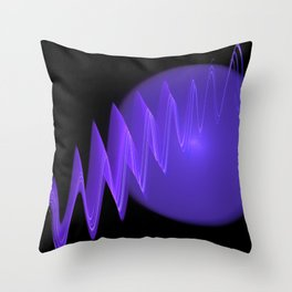 Magic of the universe Throw Pillow