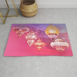 Oriental Magical Lights and Love Rug