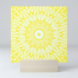 The Sun : Kaleidoscope Mandala Mini Art Print