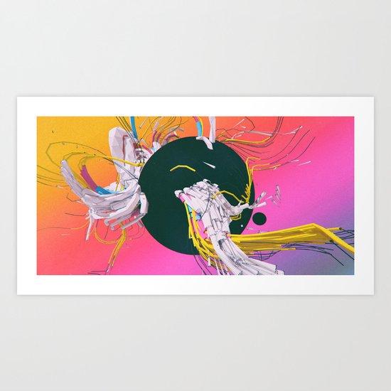 JUMBLEHEAD (12.10.15) Art Print
