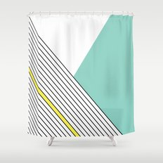 MINIMAL COMPLEXITY Shower Curtain