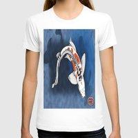 koi fish T-shirts featuring Koi Fish by Nerd Artist DM