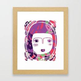 Protect_WHITE Framed Art Print