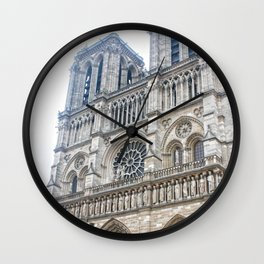 Notre Dame Wall Clock