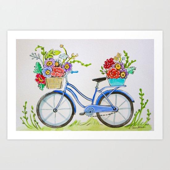 Bicycle by audralsaundersart