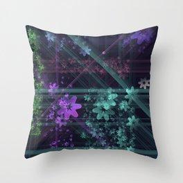 Cosmic Garden Throw Pillow