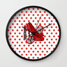 Sweet And Sassy - Fashion Wall Clock