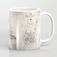 tarot Mugs featuring Tarot: III - The Empress by Jæn ∞