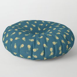 Distressed Pinapples Floor Pillow