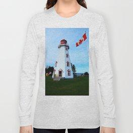 Lighthouse Panmure Island Long Sleeve T-shirt