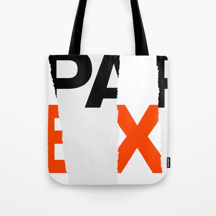 Fall Paper Expo (from Design Machine archives) Tote Bag