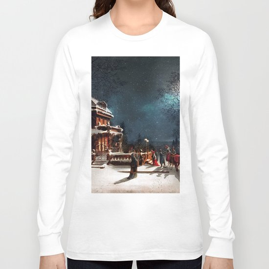 Vintage Christmas Long Sleeve T-shirt