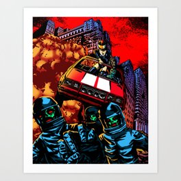 Devil Planet Art Print