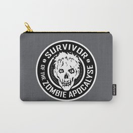 Survivor of the Zombie Apocalypse Carry-All Pouch