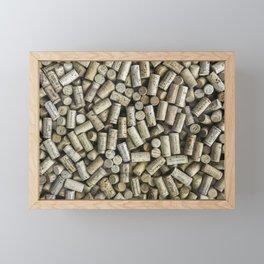 Wine Corks Framed Mini Art Print