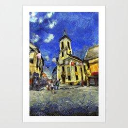 Szentendre Hungary Van Gogh Art Print