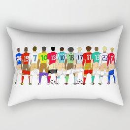 Soccer Butts Rectangular Pillow