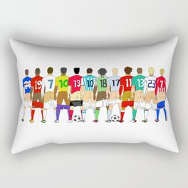 Soccer Butts Rectangular Pillow