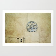the palace. Art Print