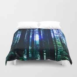 Blue June Duvet Cover