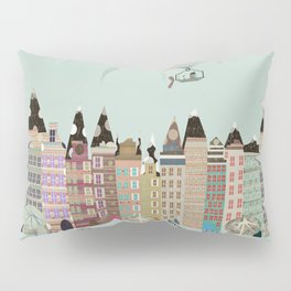 Visit Amsterdam Pillow Sham