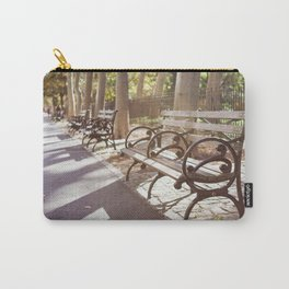 New York City Park Bench Moments Carry-All Pouch